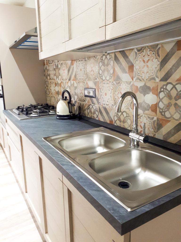 dettaglio cucina - appartamento b&b il Lentischio