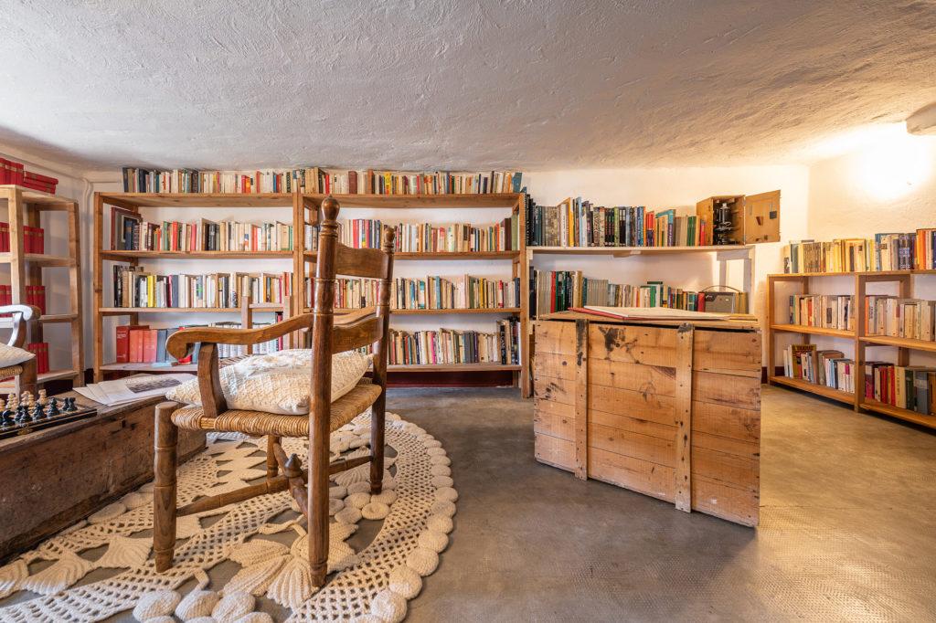 biblioteca storica - palazzo santa caterina dorgali