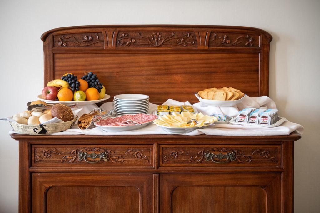 breakfast - palazzo santa caterina dorgali