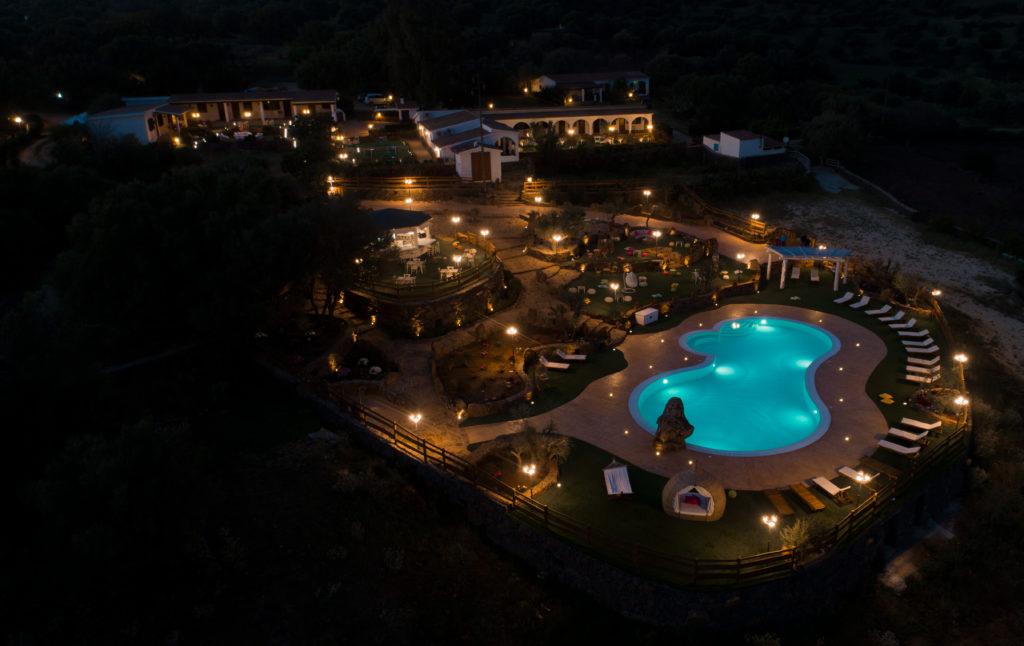 piscina notturna dorgali agriturismo